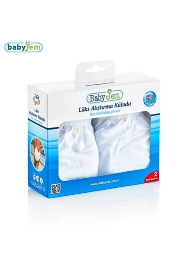 Baby Jem Babyjem Alıştırma Külodu Kutulu 2 Li 2 Yaş  Beyaz